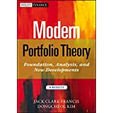 Modern Portfolio Theory, + Website: Foundations, Analysis, and New Developments (Wiley Finance)