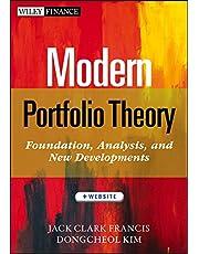Modern Portfolio Theory: Foundations, Analysis, and New Developments