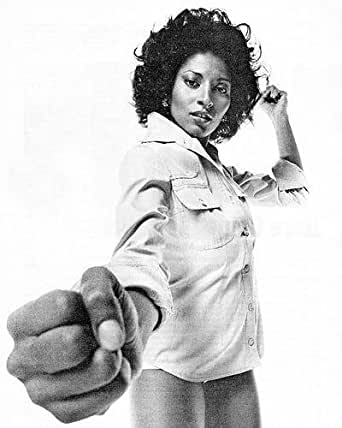 Pam Grier Packs a Punch Iconic 1970's Image 16x20 HD ...