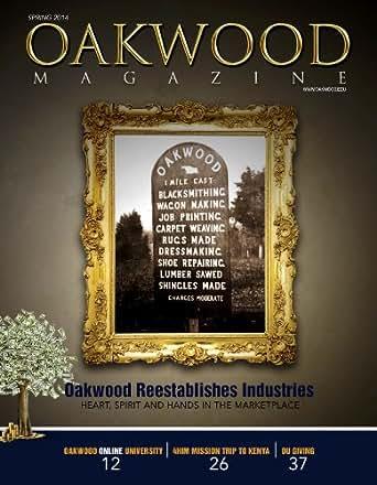 Amazon com: Oakwood Magazine: Spring 2014 eBook: George