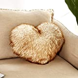 Best Heart To Heart Gift For A Three Year Olds - Heart Shaped Throw Pillow Cushion Plush Pillows Gift Review