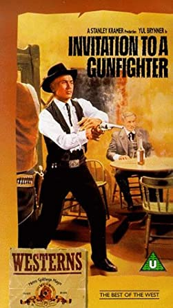 Invitation to a gunfighter vhs 1964 yul brynner janice rule invitation to a gunfighter vhs 1964 stopboris Image collections