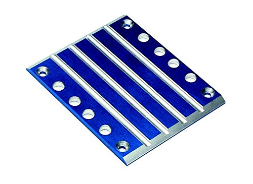 (Traxxas 4947X Blue-Anodized T6 Aluminum Center Skidplate)