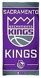 WinCraft NBA Sacramento Kings Fiber Beach Towel, 30 x 60 inches