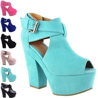 Chaussures vertes Fashion femme ORyLu