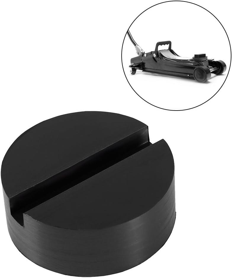 blocco in gomma universale per sostituzione pneumatici Cuscinetto in gomma 62 x 24 mm per cric nero cavalletto cric ponte sollevatore protezione officina Cikonielf