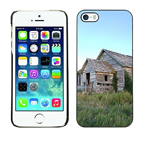 Premio Sottile Slim Cassa Custodia Case Cover Shell // F00006249 Swan Valley // Apple iPhone 5 5S 5G