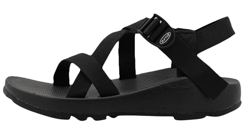 ACE SHOCK Women's Flat Sporty Beach Sandal Water Shoes Casual Athletic Sandals Plus Size B01HTCDFXA 6 M US