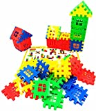 KINGDOM TOYS Building Blocks 60 Piece Interlocking Play Set for Child-Children Imaginations Run Wild-A Creative and Educational Alternative to Building Blocks -A Great STEM Toy -Safe Kids Material