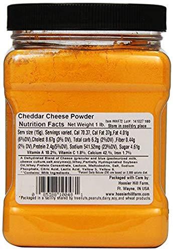 Cheddar Cheese Powder by Hoosier Hill Farm, 1 lb (Two Pack) by Hoosier Hill Farm (Image #2)