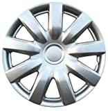 Drive Accessories KT-985-15S/L, Toyota Camry, 15' Silver Lacquer Replica Wheel Cover, (Set of 4)