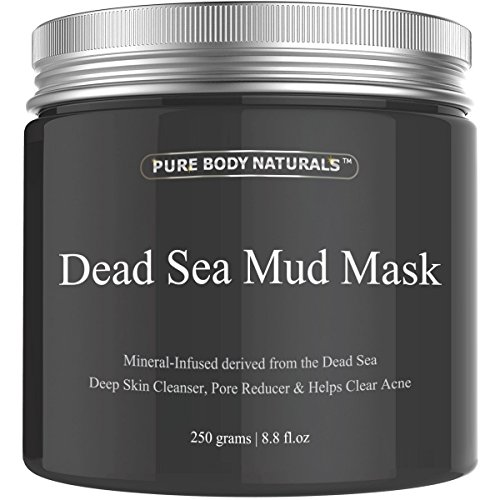 Pure Body Naturals Purifying Dead Sea Mud Mask Facial Treatment 51GBYa1rBuL