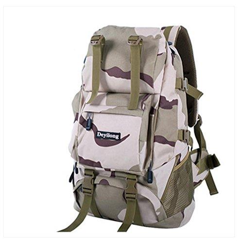 BUSL Aumentan al aire libre los hombres y mujeres del morral del recorrido del alpinismo del bolso de hombro del bolso del ordenador 60L Senderismo . h d