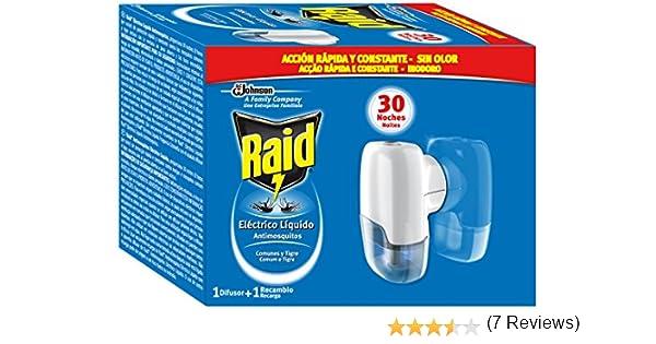 Raid - Antimosquito. Eléctric Líquido Aparato