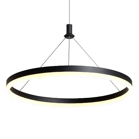 Luces colgantes redonda colgante de luz LED Lámpara de ...