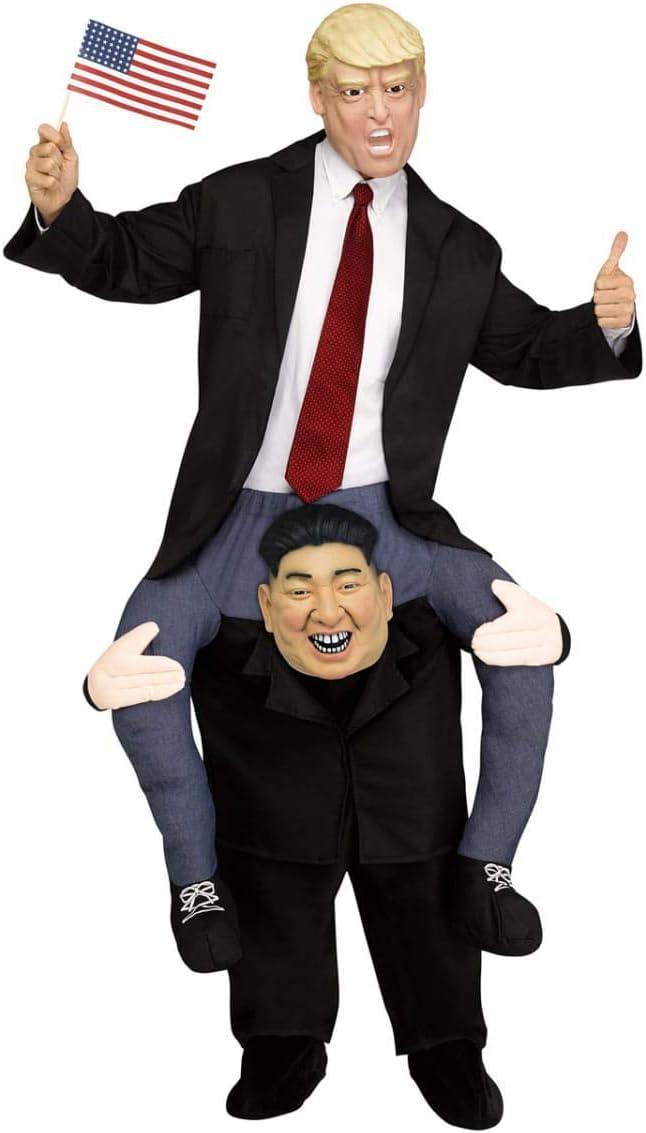Horror-Shop Llévame el Disfraz de Kim Jong-un.: Amazon.es ...