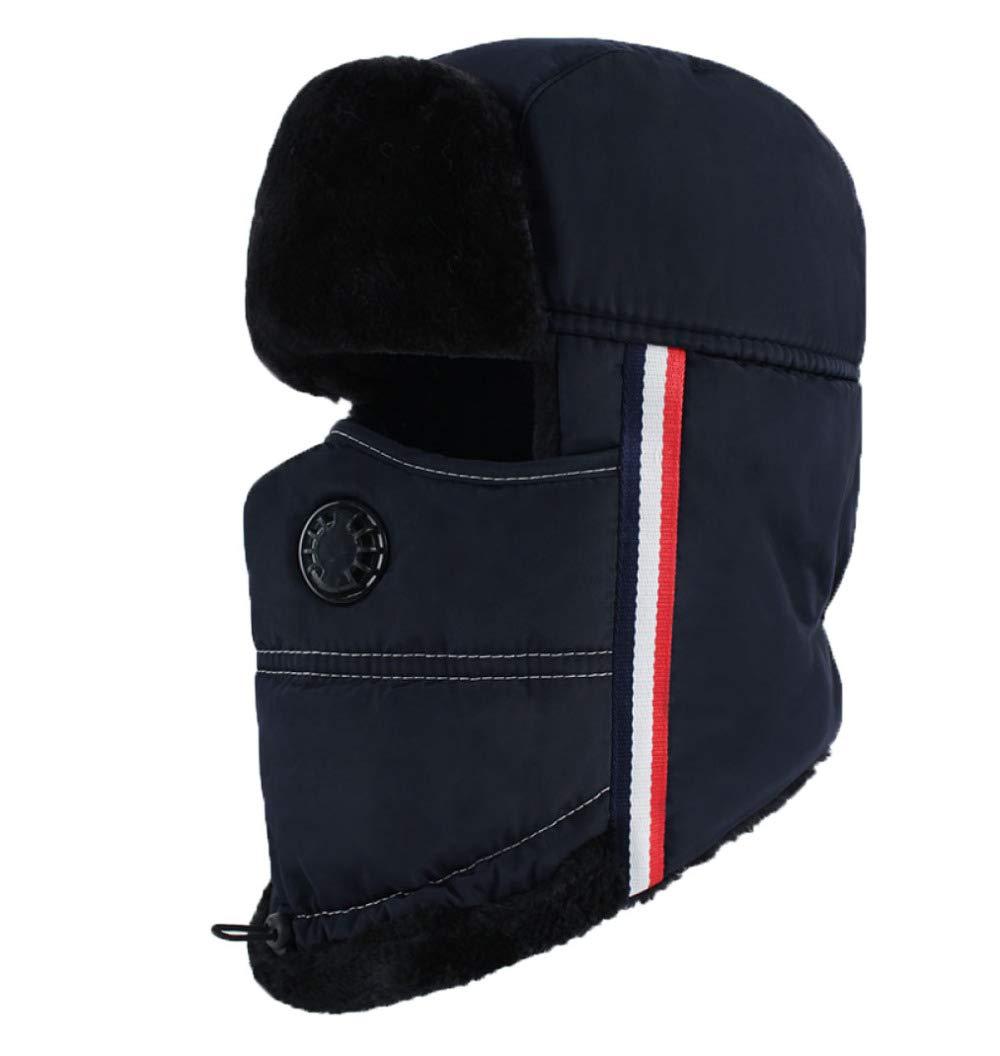 GAZHFERY Unisex Men Winter Trooper Trapper Hunting Russian Bomber Hat, Grey-OneSize FFJYJC