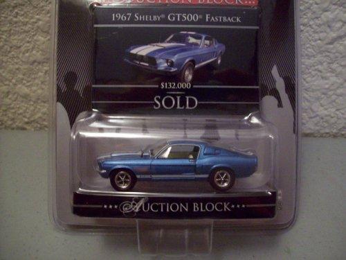 Greenlight Barrett-Jackson Auction Block R3 1967 Shelby GT500 Fastback