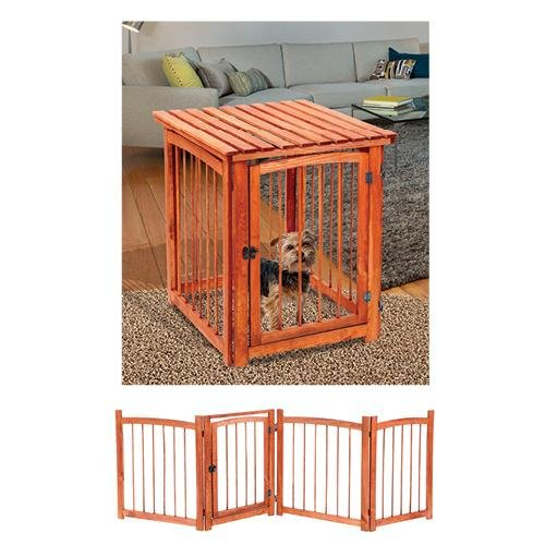 3 in 1 Pet Gate Crate and Table