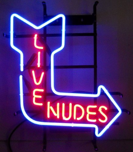 Neonetics 5NUDE Live Nudes Neon Sign
