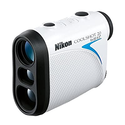 Nikon COOLSHOT 20 Golf Laser Rangefinder with Lens Pen and 15 Pack Of Wilson Golf Balls by Nikon