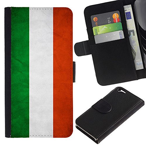 EuroCase - Apple Iphone 6 4.7 - Hungary Grunge Flag - Cuir PU Coverture Shell Armure Coque Coq Cas Etui Housse Case Cover