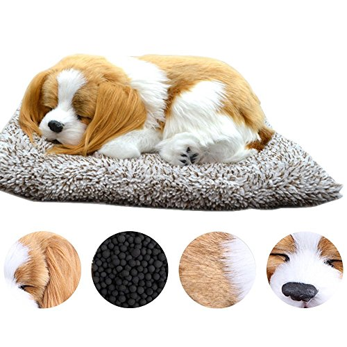 Plush Dog Toys, Dog Decoration for Car Simulation Dog Car Decorations Car Charcoal Air Purifying Bag Activated Carbon Bag Best Gifts for Father's Day, Mother's Day, Valentine's Day and Christmas Day