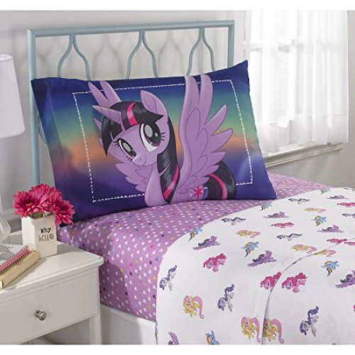 My Little Pony Movie Microfiber Twin Bedding Sheet Set - Twinkle Disney Doll