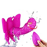 20 Speeds Waterproof Remote Control Vibrating Eggs butterfly Dildo Panty Vibrator Adult Sex Toy (purple)