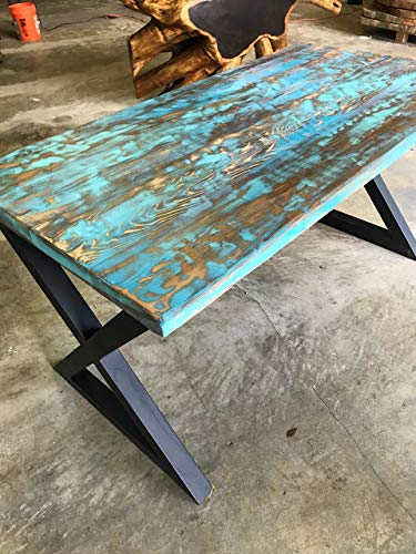 (UMBUZÖ Reclaimed Wood Dining Table)