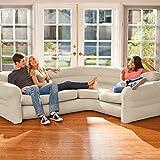 "Intex Inflatable Corner Sofa, 101"" X 80"" X 30"""