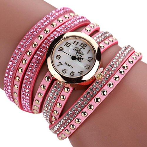 Ecosin® Watches Women Watch Bracelet Fl - Ladys Crystal Wrist Watch Shopping Results