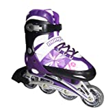 Mongoose Girl's Inline Skates, 5-8 Size/Large