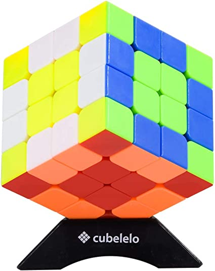 Cubelelo QiYi WuQue 4x4 Stickerless 4x4x4 Speed Cube Magic Cube Puzzle