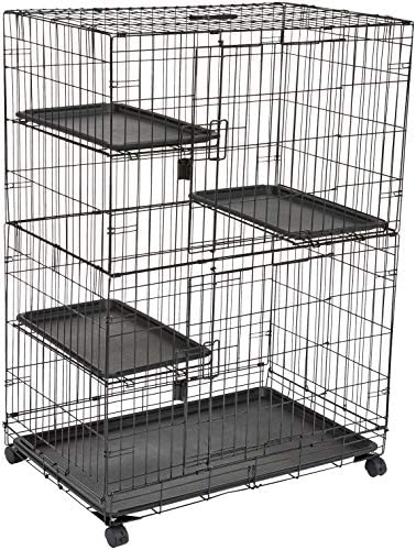 AmazonBasics 9050 is the best Cat Cage? Our review at cattime.com uncovers all pros and cons.