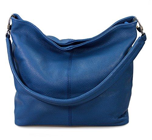 Borsetta le de Hombro Icone® MIO IO Azul Bolsa IO real azul Mujer per wIy00EgBq