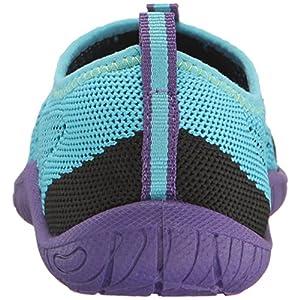 Speedo Kids' Surf Knit Athletic Water Shoe, Teal, 12 D US Little Kid