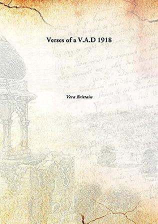 book cover of Verses of a V.A.D.