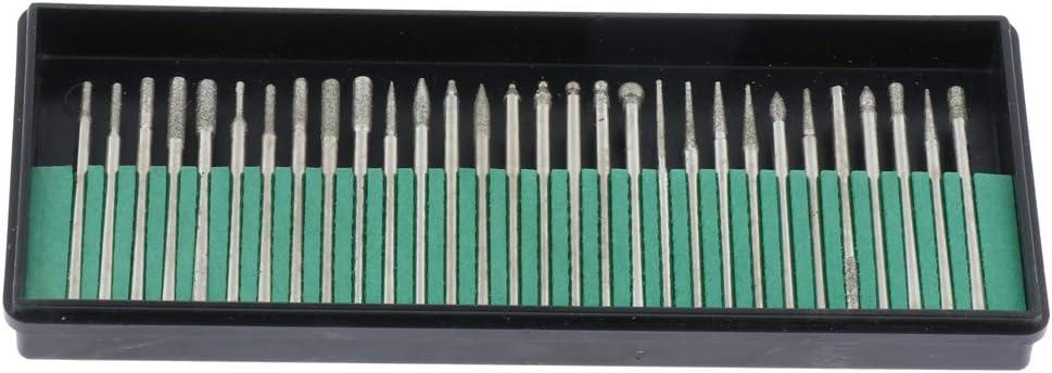 non-brand 30 Piezas Sets de Lima de Diamante Abrasivo de Precisión ...