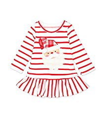 ANBOO Toddler Kids Girls Striped Princess Lovely Dress Christmas Outfits Clothes