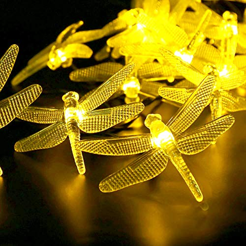 Dragonfly Outdoor String Lights in US - 3