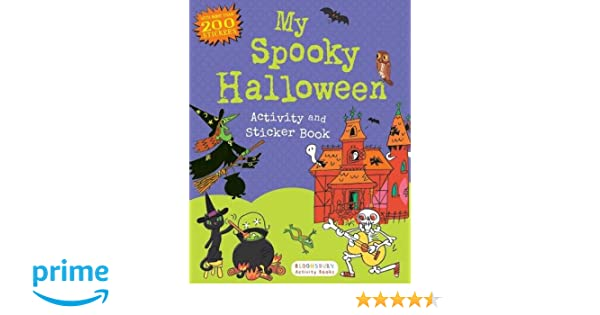 My Spooky Halloween Activity and Sticker Book (Sticker Activity ...