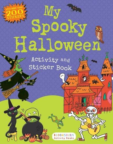Kindergarten Halloween Activities (My Spooky Halloween Activity and Sticker Book (Sticker Activity)