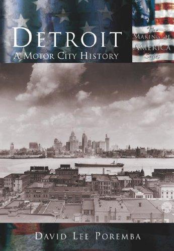 DETROIT DAVID LEE POREMBA NEW PAPERBACK BOOK
