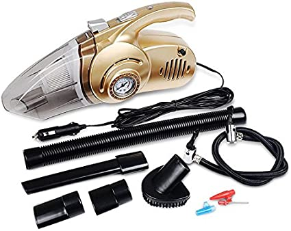 WOVELOT Multifuncional 12V 120w Aspirador para Coche y casa 4 en 1 Aspirador de Coche Mojado seco Alto Voltaje 14.76 pies (4.5M) Cable de Potencia: Amazon.es: Coche y moto