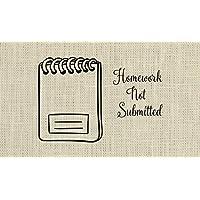 Teacher Stamp, Homework Stamp, Unique gift for teachers- 2F