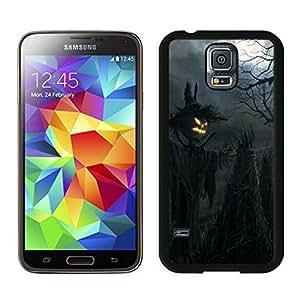 Custom-ized Phone Case Dark Raven Scarecrow Halloween Black Samsung Galaxy S5 Case 1