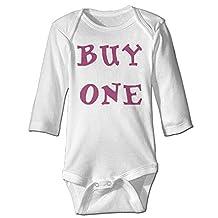 Missone Boy's & Girl's Twins Buy One Long Sleeve Romper Bodysuit Outfits