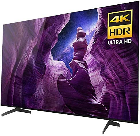 Sony XBR55A8H 55-inch A8H 4K Ultra HD OLED Smart TV (2020) Bundle with 1 Year Extended Protection Plan 51GBfCbpGvL