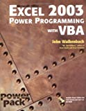 Excel 2003 Power Programming with VBA, John Walkenbach, 0764540726